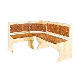 Rohová lavice NR111, moření: … Židle do kuchyně