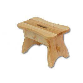 Taburet KT255, masiv borovice, moření: … Židle do kuchyně