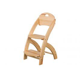 Rostoucí židle KT201, masiv borovice, moření: … Židle do kuchyně
