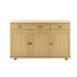 Dřevěná kuchyňská skříňka KW110, masiv borovice, moření: …