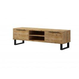 HALLE televizní stolek velký TYP 40, dub wotan