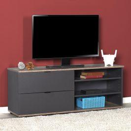Televizní stolek TVC-502-LA-1, antracit/latte