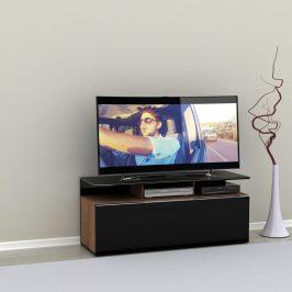 Televizní stolek TVC-529-NS-1, noce/černý lak