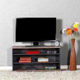 Televizní stolek TVC-300-LA-1, antracit/latte