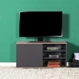 Televizní stolek TVC-310-LA-1, antracit/latte
