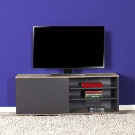 Televizní stolek TVC-510-LA-1, antracit/latte