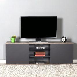 Televizní stolek TVC-520-LA-1, antracit/latte