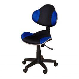 Kancelářská židle NOVA, modro/černá barva Kancelářská křesla