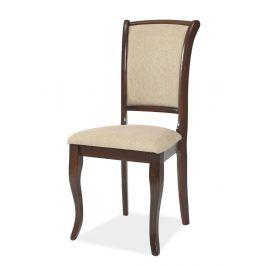 Dřevěná židle MN-SC, tmavý ořech