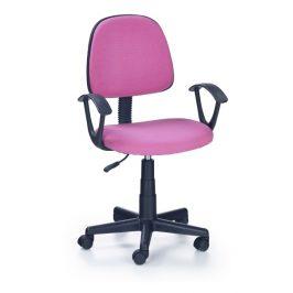 Dětská židle DARIAN BIS, růžová Kancelářská křesla