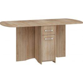 MORAVIA FLAT Skládací jídelní stůl EXPERT X, dub sonoma