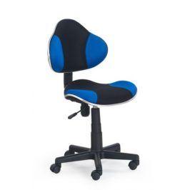 Dětská židle FLASH, černá/modrá