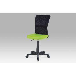 Kancelářská židle KA-2325 GRN zelená / černá Kancelářská křesla