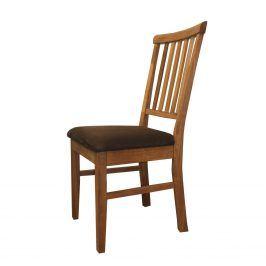 Židle polstrovaná 4843, dub
