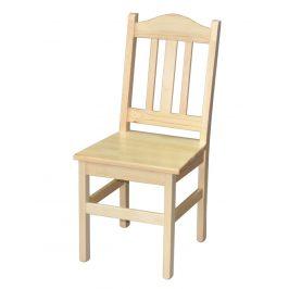 Židle nr.1, masiv borovice, moření: ...