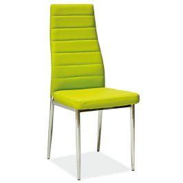 Jídelní židle H-261, zelená