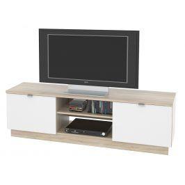 MB Domus TV stolek, VENETO 03 dub sonoma/bílá