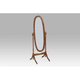 20124 WAL Zrcadlo v dřevěném rámu odstín ořech
