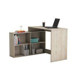 Univerzální rohový psací stůl CORNER, dub shannon Psací stoly
