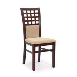 Jídelní židle GERARD 3, ořech tmavý