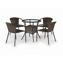 Stůl MIDAS, tmavě hnědý
