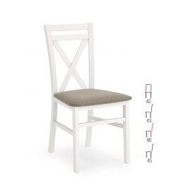 Židle DARIUSZ, bílá