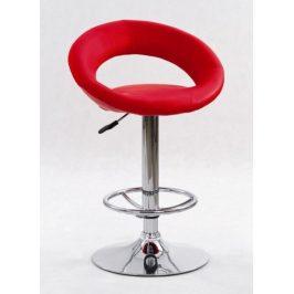 Barová židle ZH-15, červená