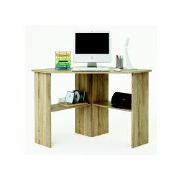 Rohový psací stůl ANGUS, dub sonoma