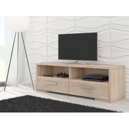 MORAVIA FLAT TV stolek ROMA, dub sonoma Stolky pod TV
