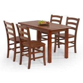 Halmar Jídelní stůl DINNER 115, třešeň antická
