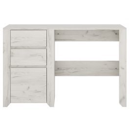 Elegantní psací stůl ANGEL 3S, dub bílý