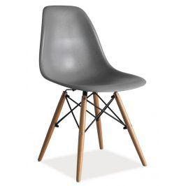 Jídelní židle ENZO, šedá