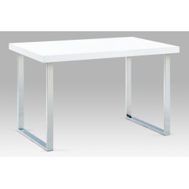 Jídelní stůl A770 WT kov/bílý lak