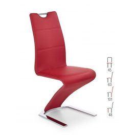 Židle K-188, červená