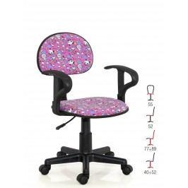 Halmar Dětská židle ALFRED, růžová