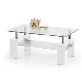 Konferenční stolek DIANA INTRO, bílý lak