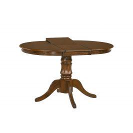 Halmar Jídelní stůl rozkládací WILLIAM, ořech tmavý