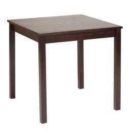 Idea Jídelní stůl 8842, masiv borovice, tmavohnědý lak