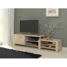 MORAVIA FLAT TV stolek ORION, dub sonoma