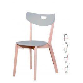Židle PEPPI, šedá