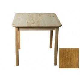 MAGNAT Stůl 70 x 70 cm nr.2, masiv borovice/moření dub