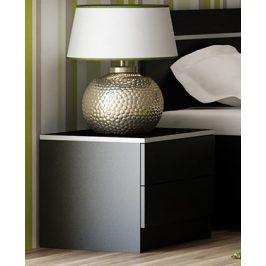 Smartshop VISTA noční stolek, černá