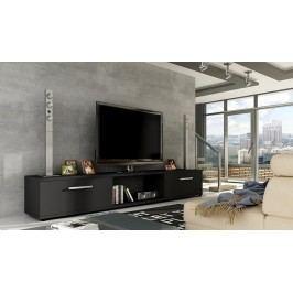 Smartshop TV stolek MALTON, černá mat Stolky pod TV