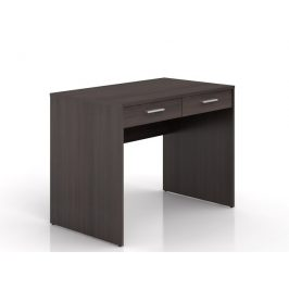 Psací stůl se šuplíky NEPO BIU2S, wenge Psací stoly