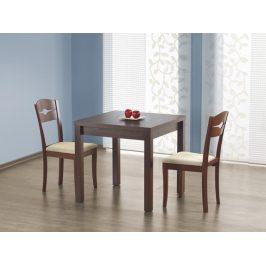 Jídelní stůl rozkládací GRACJAN, ořech tmavý