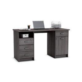MONACO, psací stůl, dub vulcano, psací stůl, dub vulcano