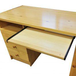 Výsuvná deska na klávesnici 880 lak Psací stoly
