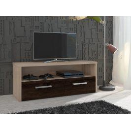 TV stolek TIRANA, dub sonoma/dub sonoma tmavý