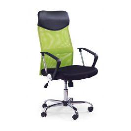 Kancelářské křeslo VIRE, černá/zelená
