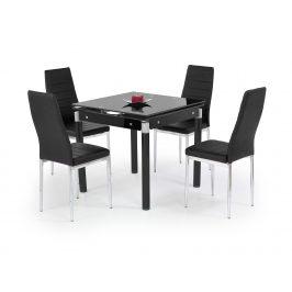 Halmar Jídelní stůl rozkládací KENT, černý